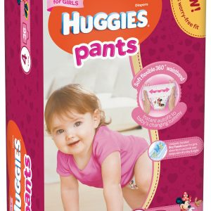 Huggies Pants-chilotei de unica folosinta nr.4