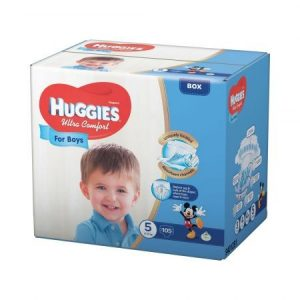 HUGGIES ULTRA CONFORT BOY 5 (105)