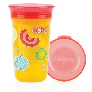 Nuby Wonder Cup 360⁰ decorat 6+ Orange