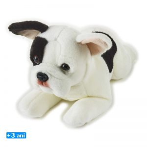 Jucarie din plus - Catelus Pierre Bull Dog francez 39 cm