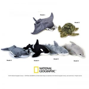 Jucarie din plus National Geographic Animal Oceanic 23 cm